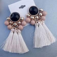<b>Vintage Bohemian</b> Long <b>Tassel Earrings</b> | <b>vintage</b> earrings ...