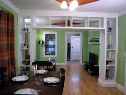 Kitchen Partition Wall Designs Divider Design Between Living Room And Dining Room Image Of Home