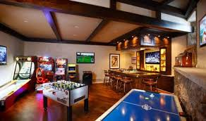 basement game room ideas. Unique Basement A Fully Functional Bar Could Be Nice Addition To The Basement Too Throughout Basement Game Room Ideas