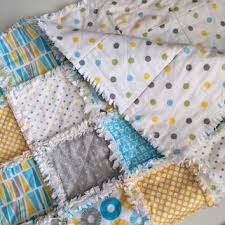 Yellow Baby Rag Quilt - Flannel Baby from AllAboutTheDetail on & Rag Baby Quilt: ABC Baby Blanket, Rag Quilt, Crib Bedding, Baby Bedding Adamdwight.com