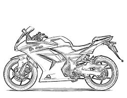 Coloring Pages Of Motorcycles Coloring Home L