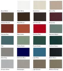 Cardinal Powder Color Chart Color Chart United Enertech