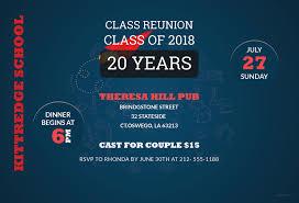 Class Reunion Invitations Templates Free Class Reunion Invitation Template In Adobe Photoshop 23