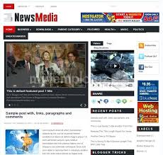 Newspaper Website Template Free Download News Themes Templates Free Premium Newspaper Theme Template