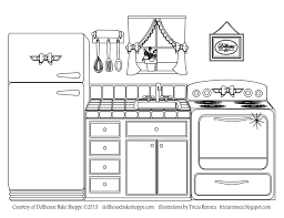 Small Picture A coloring page decorate your own kitchen from Lindsay Dillon