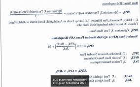 LGS puanı nasıl hesaplanır? LGS puan hesaplama 2021 - Haberi Ara