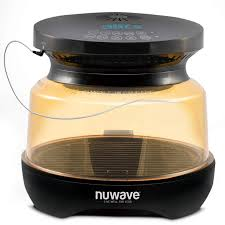 Nuwave Infrared Oven Cooking Chart Nuwave Primo Grill Oven With Integrated Digital Temp Probe For Perfect Results Convection Top Grill Bottom For Surround Cooking Cook Frozen Or
