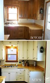 Kitchen Cupboard Makeover Kitchen Ba The Big Reveal Amy Allender Dot Com