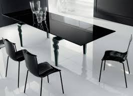 modern black dining room tables. Modern Dining Room Furniture Designers Black Glass Table Tables L