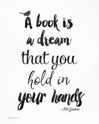 reading is a dream quote picture