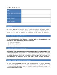 Deliverables Template It Provides Verification That All Project Deliverables Have