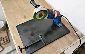 how to make angle grinder stand diy angle grind