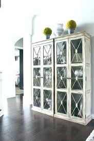 armoire with glass doors glass doors small black cabinet with glass doors black cabinet with glass