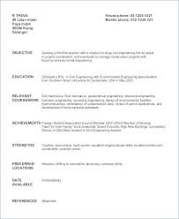 Sample Resume For Freshers Resume Sample Resume For Teachers