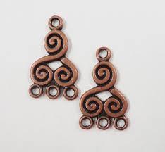 silver earring hooks whole fresh copper chandelier earring findings 21x13mm antique copper metal