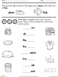 An ideal and comprehensive resource to introduce digraph sh in classroom or at home. Worksheets Words With Sh Beginning Sounds Worksheets Phonics Worksheets Ch Words