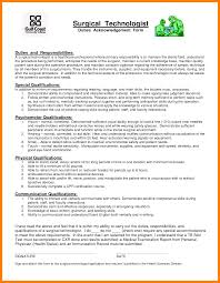 Surgical Tech Resume Sample 7 Surgical Tech Resume Examples Apgar