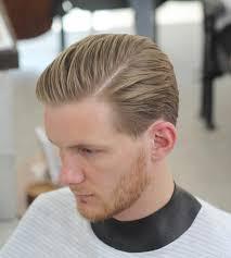 Coupe De Cheveux Homme Raie Sur Le Cote