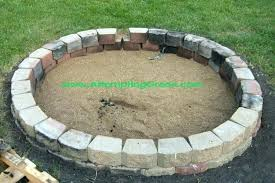 delighful pit large brick fire pit designs size enchanting round design paver outdoor with for round brick fire pit