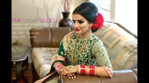 indian bollywood south asian bridal makeup start to finish by pink orchid studio