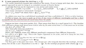 Waves - Qualitative Relationship Between A Function F(X) And Its ...
