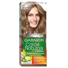 Garnier Light Brown Hair Color Price Garnier Color Naturals 7 11 Deep Ash Blonde Hair Color 60 Ml