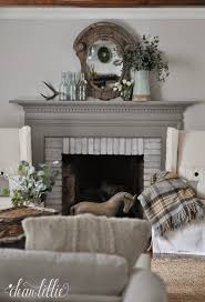 this wool blanket from has been one of my favorite finds to keep cozy during this cold winter plus it matches our gray mantel perfectly