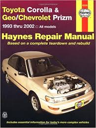 toyota corolla workshop service and maintenance manual toyota 2002 Toyota Corolla Wiring Diagram toyota corolla workshop service and maintenance manual toyota corolla geochevrolet prizm automotive repair manual wiring diagram 2004 toyota corolla wiring diagram