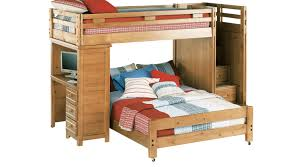 bunk bed. Brilliant Bunk Creekside Taffy TwinFull Step Bunk Bed With Desk Inside T