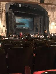 Orpheum Theatre San Francisco Section Orchestra L