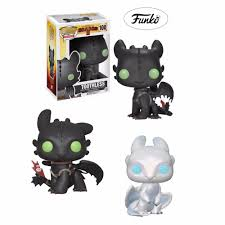 Light Fury Funko Us 12 99 35 Off Action Light Fury Figure Funcotoys Collection Gift Model For Children Disney Movie How To Train Your Dragon Toothless Night Fury In