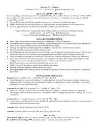 juris doctor resume general counsel resume