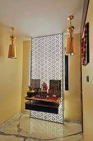 Pooja Room Designs In Living Room Jain Residence Puja Room Designs By Ipipl Homzin