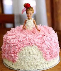 Barbie Birthday Cakes Barbie Birthday Cake Cake Pinterest Birthday