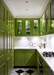 Green Kitchen Cabinet Doors Green Color Kitchen Designs Beautiful Green Kitchen With Green