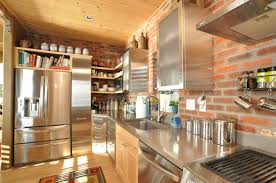 Brick Kitchen Great Brick Kitchen Backsplash Kitchen Decoration