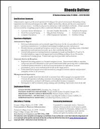 Administrative Assistant Job Summary Resume Best Of Resume Template Sample Resume For Administrative Assistant Job