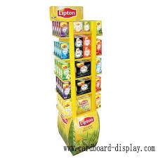 Tea Bag Display Stand Corrugatd Paper Display Standee For Tea Bagcardboard Displays 37