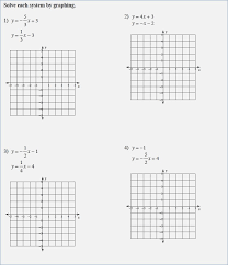 systems of equations graphing worksheet careless me