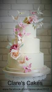 Butterfly Wedding Cake Sept 2014 Cake By Clares Cakes Leicester