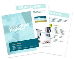 accounting proposal template free sample bookkeeping proposal
