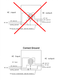 isolated ground transformer wiring diagram meetcolab isolated ground transformer wiring diagram ground earth should be carried through but not connected
