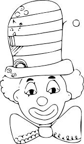Coloriage Clown Chapeau Dessin Imprimer Sur Coloriages Info