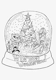 Small Picture Snow Globe Coloring Pages Printable Snowman S 3078929 Throughout