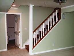 basement stairs railing. Basement Stairs Railing Wood Basement Stairs Railing L