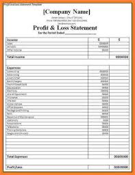 Profit Loss Statement For Self Employed Image Result For Profit And Loss Statement Self Employed