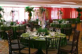 safari theme wedding. Rainforest theme Bar Mitzvah with jungle centerpieces and Flickr