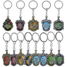 Schlüsselanhänger Harry Potter Hufflepuff Gold Keychain Metal Pendant Key  Rings Ornament Gift Kleidung & Accessoires bailek.com