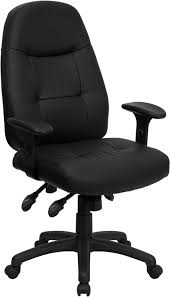 high back espresso leather executive office chair 2 seat options