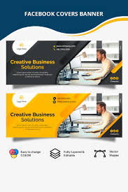 Web Design Company Facebook Page Corporate Busniss Facebook Cover Social Media